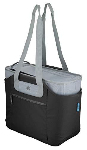 alfi 0007.233.813 Shopper isoBag L, Polyester, midnight black, 30 L, inkl. herausnehmbarer Kühltasche