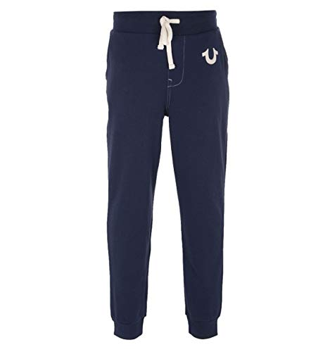 True Religion Men's Classic Logo Jogger Sweatpants