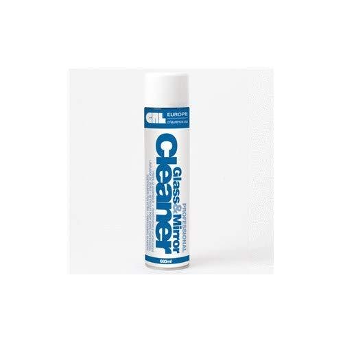Glasreiniger, Aerosol, Top-Qualität, amerikanische Rezeptur, 660 ml, Box - 12 x Glasreiniger -