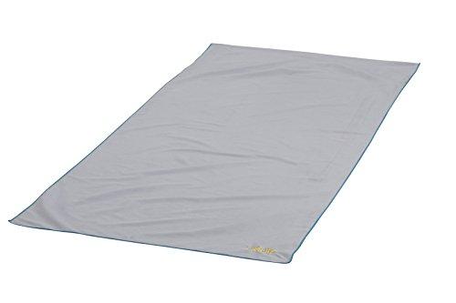 Uquip Sporty 90 - Microfaser Sporthandtuch für Sport oder Pool, Handtuch mit Rutschschutz,...