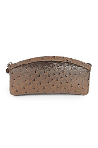 Designer Premium PU Leather Stylish Clutch Purse, Hand Purse , Wallet For Girls, Womens and Ladies Brown Zip Closure Latest Design Wallet Purse by Instabuyz  available at amazon for Rs.335