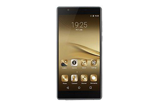6.0 inch P9 Plus unlocked Smartphone Android 5.1 Quad Core 1.2GHz Dual SIM 5.0 Camera 512MB RAM 8GB ROM GSM mobile phone (Black)