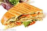 mazoria Stainless Steel 2 Jumbo Bread Sandwich Griller