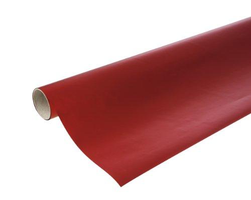 Rolle Metallpapier rot