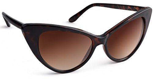 UVprotect® Damen Retro Sonnenbrille Havana W45