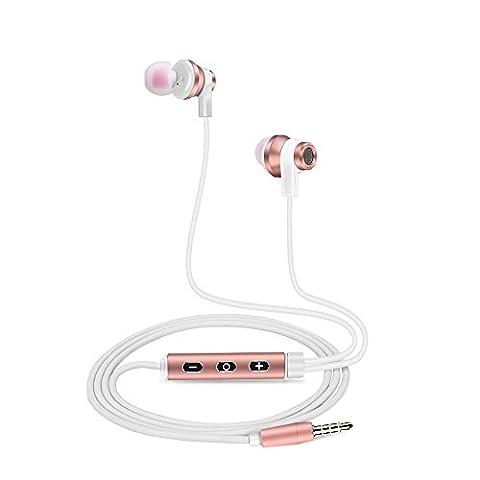 Earphones In Ear Headphones with Microphone DolTech 120 Premium Aluminum
