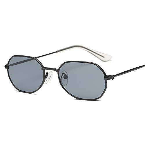 JYTDSA Women Metal Sunglasses Man Women Metal Hexagon Sun GlassesGlasses Small Frame Shades Eyeglass