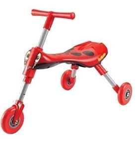 QuickSmart Scuttle Bug - Lady Bug, large, razor, wheely, small, quick, smart, go, compact bébé, nourrisson, enfant, jouet