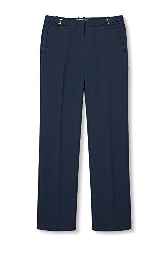 ESPRIT Collection Damen Hose Blau (Navy 400)