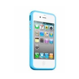 abilos BUMPER blau iPhone 4/4S mit Metallbutton