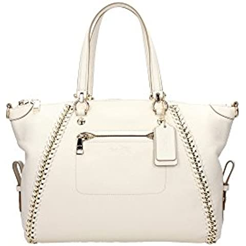 34339LICHK Coach Borse Shopping Donna Pelle