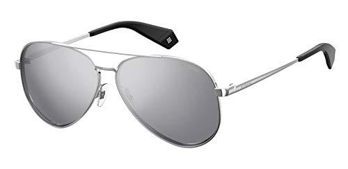 Polaroid Damen Pld 6069/S/X Sonnenbrille, Mehrfarbig (Silver), 61