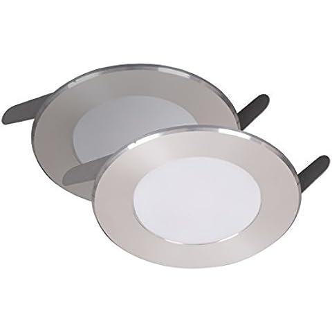 SMART LIGHT 2 x bombillas LED empotrables en 1,8 W, 2 x 95 lm, luz blanca cálida 7000,005