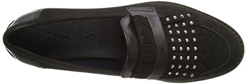 Tamaris Damen 24313 Slipper Grau (Anthracite 214)