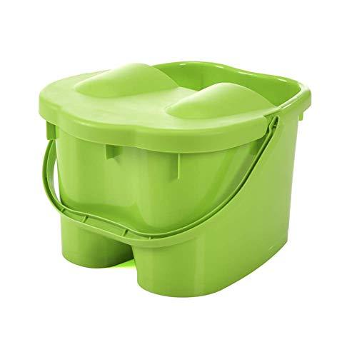 QWZYP Fußbadewanne, Aufrüsten eines robusten Kunststoff-Spa-Beckens for Pediküre und Massage - Perfekt zum Einweichen von Füßen, Zehennägeln und Knöcheln