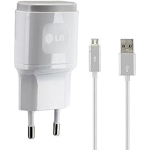 LG Original de Carga/Cable de datos 2.0USB Fuente 1,8a, 1800mAh cargador del cargador Cable Travel Charger lglw1de Micro USB para G2/G3/G4/G5Color