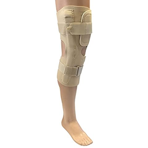 Solace Bracing Universal Long Neoprene Wrap Around Knee Brace Stability Support - 3XL