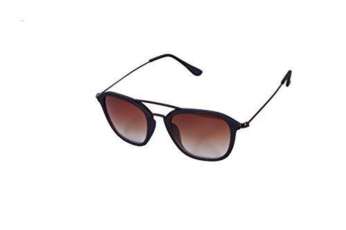 Rich Club Full Frame Brown Sunglasses