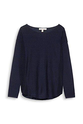 Esprit, Pull Femme Bleu (Navy 5 404)