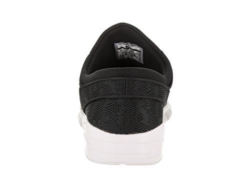 Nike Stefan Janoski Max, Scarpe da Skateboard Uomo, Null, Null Nero/Nero-Bianco