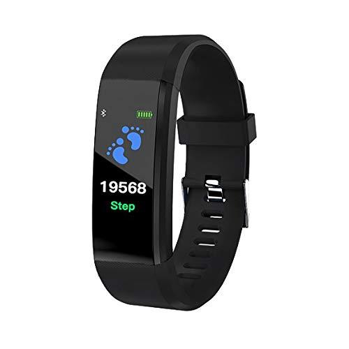 Smart Watch Bluetooth cardiofrequenzimetro LKM Security Nero LKM-OSG115BK