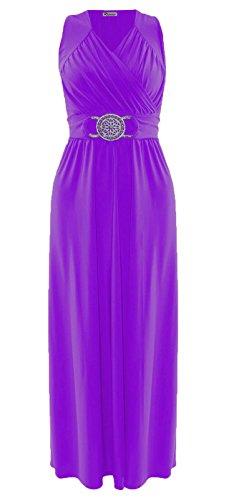 N&L Private LTD - Robe - Robe - Femme Violet