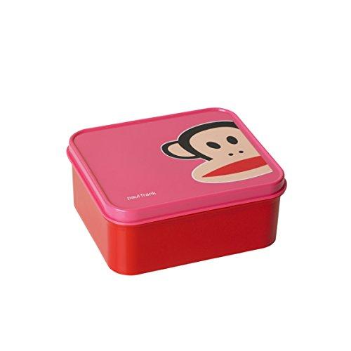 Paul Frank Lunch Box Dark Pink, Rosa, Centimeters