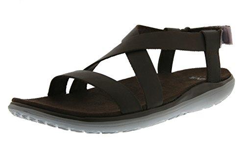 Teva Terra-float Livia Lux W's, Sandales de sport femme Marron (Brown)