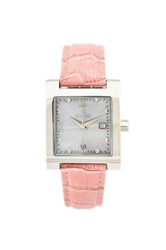 Oskar-Emil Classic Watches - St Petersburg Pink - Montre Femme - Quartz - Analogique - Bracelet Cuir rose