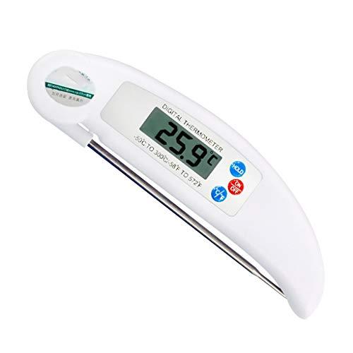 Cocina termómetro profesional de carne para asar biberón,temperatura de leche,Sonda...