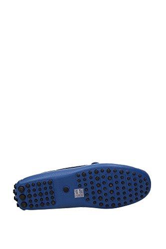 KUD006COBALTODAINO2 Car Shoe Loafers Herren Leder Blau Blau