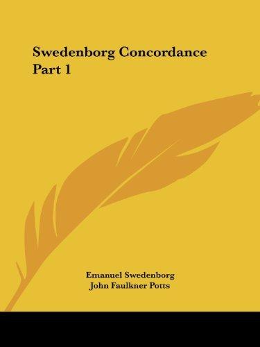 Swedenborg Concordance Vol. 1 (1888): v. 1 by Emanuel Swedenborg (2003-01-24)