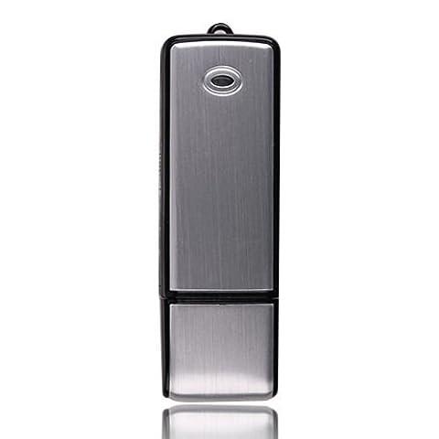 Cewaal USB-Stick Sprachaufzeichnungsgerät 8GB Audio wiederaufladbare Sound Recorder Für das Seminar Diktat Interview
