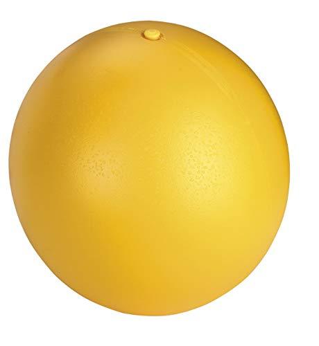 Pelota para perros Ø 30 cm, amarillo, de plástico