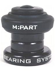 M:Part Sport Threadless Headset 1 Inch, Black [Misc.]