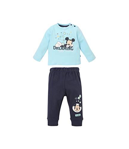 Disney Mickey Camiseta y pantalón Corto Azul