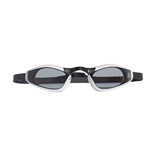 adidas Unisex- Erwachsene Persistar Race Unmirrored Schwimmbrille, Smoke Lenses/Black/Silver Metallic, S -