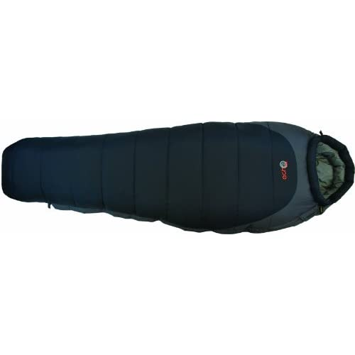 31LTakkg1tL. SS500  - Echo 350 Mummy Sleeping Bag 3-4 Season - Thick Technical Spiral Insulation, Water Resistant Coating, Double Layer Filling, Extra Warm and Comfortable - Adjustable Thermal Hood, Draught Collar, Internal Security Pocket with Compression Carry Bag – Great for Camping, Fishing, Backpacking, Outdoors, Bushcraft and Extreme Expeditions Throughout the Year
