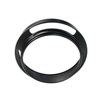 Metal Lens Hood Shade for Sony E PZ 16-50 mm F3.5-5.6 OSS SELP1650 & Nikon 1 NIKKOR 10 mm f/2.8/Samsung 20-50 mm f/3.5-5.6 ED II Lens -