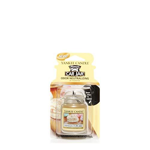 Yankee Candle 1220923E Deodoranti per Auto, Car Vaso Ultimate, Vanilla Cupcake