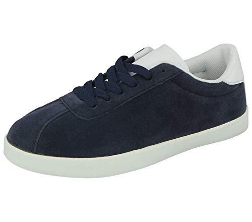 Shoe comfort, sneaker donna, blu (marina militare), 7 uk