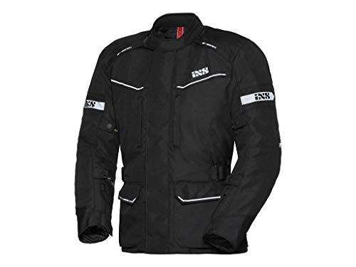 IXS EVANS-ST Touring - Giacca in tessuto da motociclista, da uomo, colore: nero