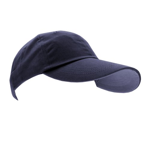 anvil Anvil Unisex Brushed Twill Cap - Gorra unisex, color azul marino