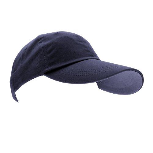 anvil Anvil Unisex Brushed Twill Cap - Gorra unisex, color azul marino, talla única