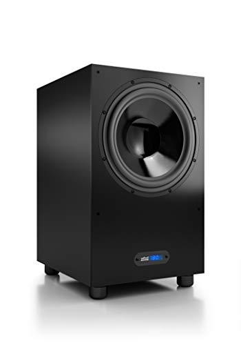 Nubert nuBox AW-993 Subwoofer | Lautsprecher für Bass & Effekte | Surround & Action auf hohem Niveau | Aktivsubwoofer-Technik | LFE-Box mit 310 Watt | Grenzfrequenz 20 Hz | Subwoofer Schwarz