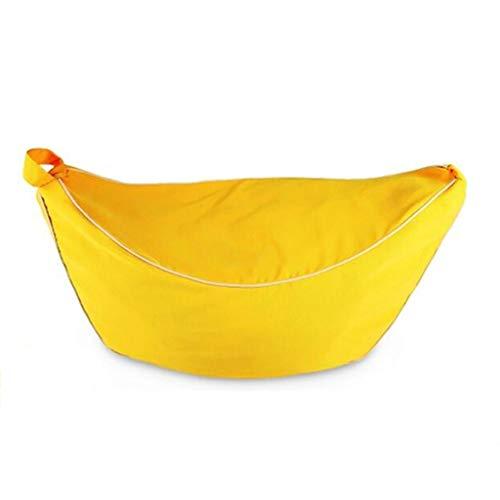 Canapés Poufs Pouff Sacs De Haricot Cuddle Chair Bébé Lavable Enfants Meubles (Color : Yellow, Size : 44.49 * 24.41 * 19.29in)