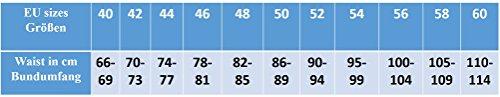Kniebundhose Leder Nubuk-Fuente Jagdhose- Trachtenlederhose Herren- Damen Kniebundlederhose -Trachten Lederhose mit Gürtel in Braun , Camel, Grün, Trachtenhose Knielang Olive