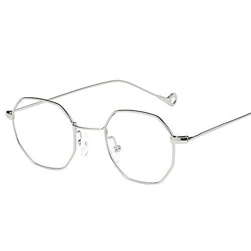YWLINK Strand Urlaub Retro Multicolor Polygon Brille Mode Klassisch Damen Herren Farbverl Polarisierte Sonnenbrille