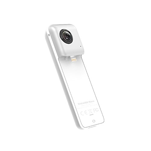 Insta360 Nano Compact Mini Panoramic 3 K HD Video 210 Degree Dual Wide Angle...