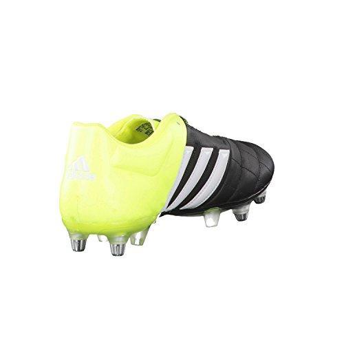 Adidas aCE fussballschuhe 15.2 sG cuir Noir - core black/ftwr white/solar yellow